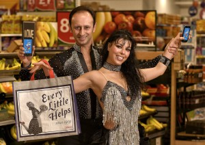 TESCO SALSA DANCERS, CLUBCARD APP