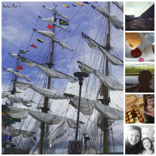 Tall Ships Collage