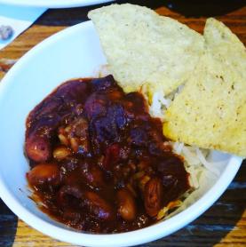 Chilli Beef and Nachos